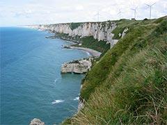 à Fécamp, les éoliennes sont un atout touristique, autant qu'économique et environnemental