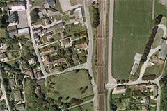 la mairie propose de préempter les terrains au bout de la rue Gourdon, pur y bâtir la nouvelle école primaire
