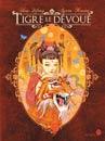 La Belle et le Tigre, un conte chinois illustré façon Art nouveau.