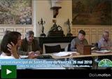Conseil municipal de Saint-Pierre du Vauvray, 26 mai 2010