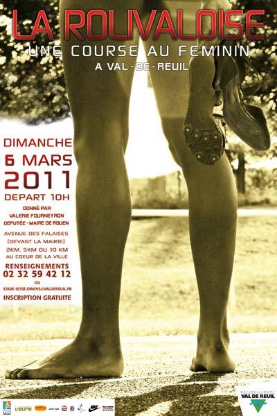 Le 6 mars, les femmes courent à la Rolivaloise
