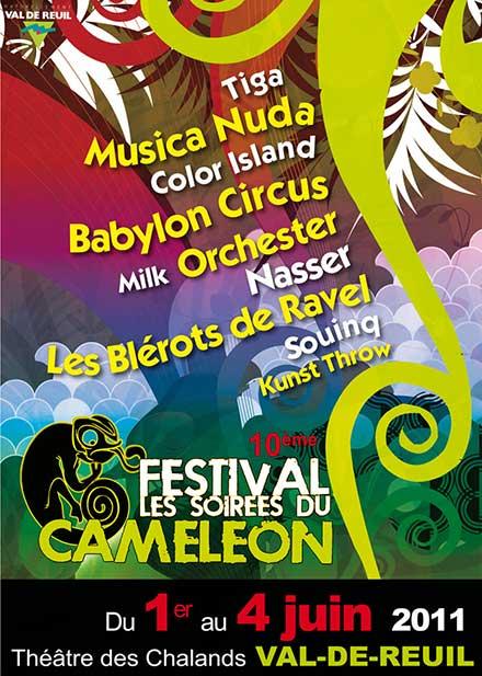 Le Caméléon fête ses dix ans, une édition haute en couleur, en énergie et bonnes vibrations.