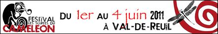 Festival les soirées du caméléon, à Val-de-Reuil, du 1er au 4 juin