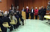 Coup de tonnerre aux voeux du maire de Saint-Pierre du Vauvray pour 2013 : le premier adjoint annonce sa démission