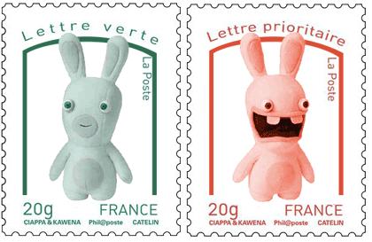 dernier essai, des lapins crétins, visiblement peu démocrates