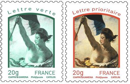 La vraie Marianne, c'est la liberté guidant le peuple de Delacroix, c'est évident. Evident ?