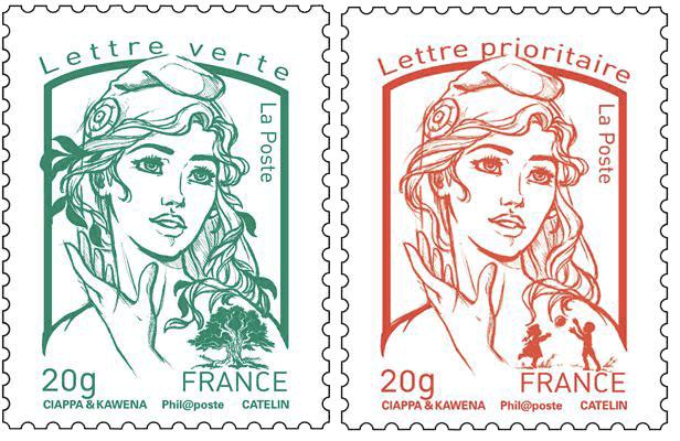 un nouveau timbre poste qui fait polémique... auprès de madame Boutin