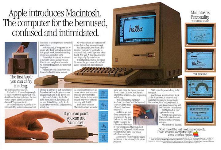 Le mac a 30 ans