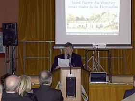 Voeux du maire de Saint Pierre du Vauvray : Alain Loëb sera candidat, mais sa liste n'est pas encore prête