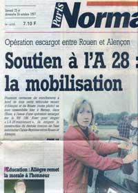 soutien à l'A28 en 1997