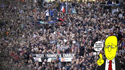 Des millions de personnes ont manifesté pour la liberté. Vive la liberté!