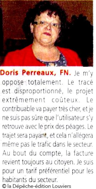 doris-perreaux, FN, dans la Dépêche du 26 mai 2017